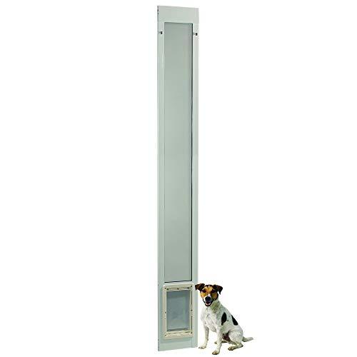 Fast Fit Pet Patio Door 96' Medium (White)