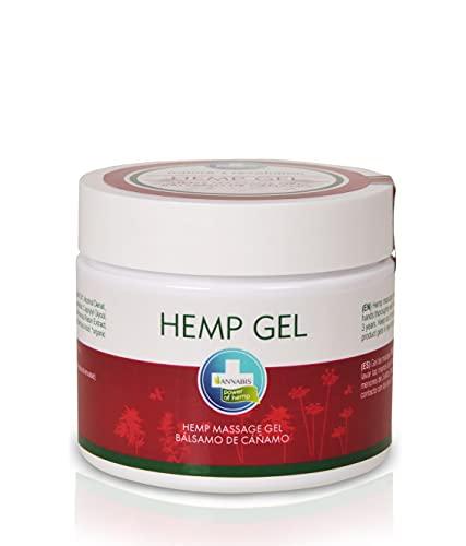Annabis Pomada de cáñamo | pomada cannabis para masaje frecuente contra el dolor con aceite de cannabis | aceite de cáñamo | aceite de hemp | pomada para dolor | 300 ml