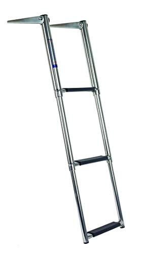 Oceansouth Teleskopleiter, Edelstahl (Ladder S/S 3 Step Telescopic)