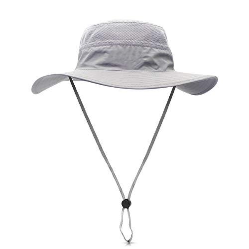 dorriso Unisexe Chapeau Soleil Pliable UPF 50 + Anti UV Vacances Alpinisme...