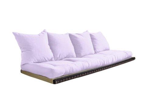 Vivere Zen - Divano Letto Futon - Kanto futon 80x200 + Tatami 80x200-2 Cuscini - Colore Classe 1...