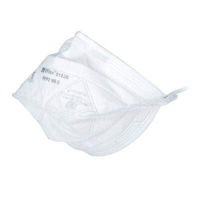 3M ™ VFlex ™ Respiratore, Maschera FFP2 9152 R Certificato EN sicurezza 2 pezzi