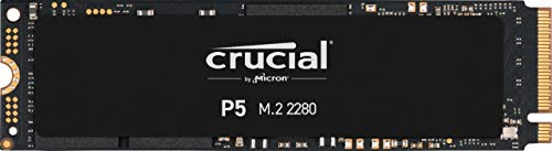 Crucial P5 CT250P5SSD8 250 GB Solid State Laufwerk (3D NAND, NVMe, PCIe, M.2, 2280SS)