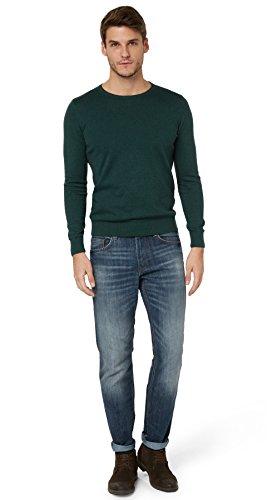 TOM TAILOR Herren MARVIN Straight Jeans , Blau (Mid Stone Wash Denim...