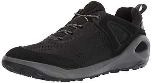 Ecco Outdoor Men's Biom 2Go Sneaker Gore-TEX Hiking Shoe, Black/Black Yak Nubuck, 43 M EU (9-9.5 US)