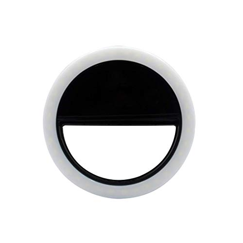 MODERN IN SEVAM Soft White Color Selfie Ring Light with 3 Modes and 36 LED for Mobile Phone Photos,...