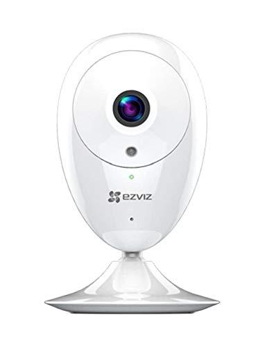EZVIZ ezCube Pro Telecamera 1080p Videocamera Sorveglianza Interno Wifi ip Camera con Ottima Visione Notturna Avviso del Movimento Audio Bidirezionale Compatibile con Alexa Google Home
