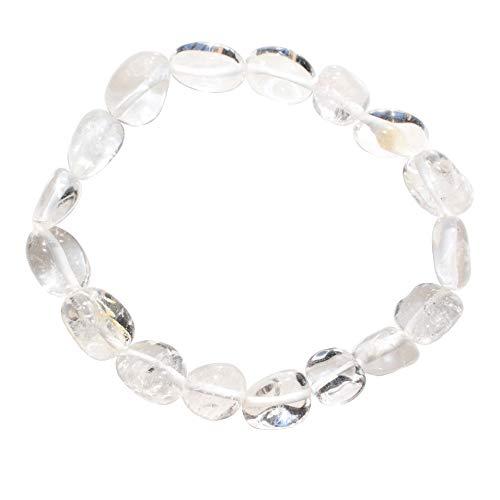 CHARGED Amplifier Clear Quartz Crystal Bracelet Tumble...