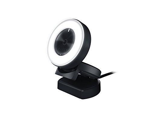 Razer Kiyo: Full HD 1080p 30FPS / 720p 60FPS - Luz Ajustável - Autofocus Avançado - Web Camera de Streaming