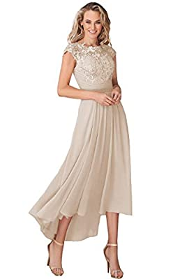 ♥ DRESS DETAIL: chiffon material, Cap Sleeves, Scoop Neck neckline, Ankle-Length Dress, Lace, Appliques, A-Line, with pocket,Zipper closure on the back ♥ SIZE ATTENTION:Please check the size detail before you placed the order,we used our own size cha...