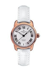 Certina Damen-Armbanduhr XS Analog Automatik Leder C025.207.36.038.00