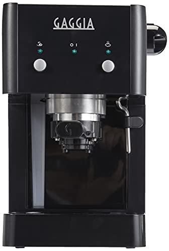 Gaggia GG2016 Macchina da Caff Espresso Manuale, 1025 W, 1L, Nero