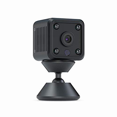 OWSOO Mini Telecamera Spia Nascosta Wireless Spy Cam 1080P HD WiFi Telecamera Spia con Visione...