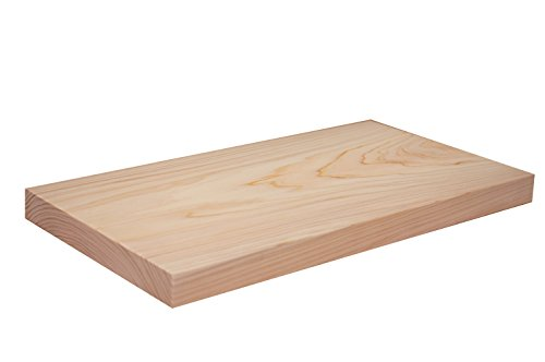 Power of the Wood 国産一枚板 ヒノキのまな板 C型