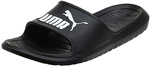 PUMA Divecat v2, Zapatos de Playa y Piscina Unisex Adulto, Black White, 43 EU