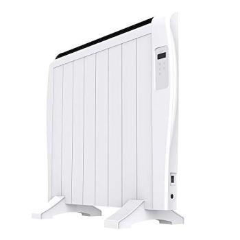 Cecotec Radiador Eléctrico Bajo Consumo Ready Warm 1800 Thermal Connected 8 Elementos, 1200 W, De pared o pie, 3 Modos, Temporizador, Mando a Distancia, Pantalla LCD, Control por Wifi, Ultrafino