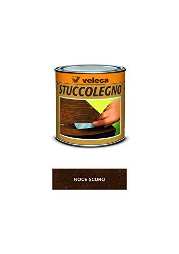 Veleca STUCCOLEGNO Noce Scuro - gr. 250 - STUCCO IN PASTA PER LEGNO