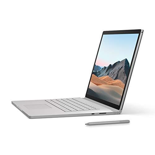 Microsoft Surface Book 3 Notebook Convertibile da 15', Core i7, RAM 32 GB, SDD 512 GB, Platino...