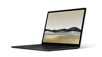 """Microsoft Surface Laptop 3 Ordinateur Portable (Windows 10, Écran Tactile 13"""", Intel Core i5, 8Go RAM, 256Go SSD, Noir, Finition Métal, Clavier AZERTY Français)"""