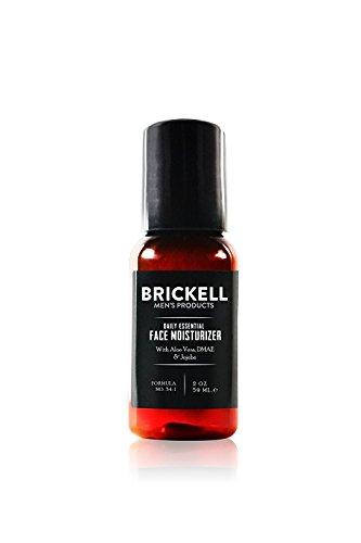 Brickell Men's Products Crema Idratante Viso Quotidiana per Uomo - Lozione Viso Naturale ed Organica - 59 ml - Non profumata