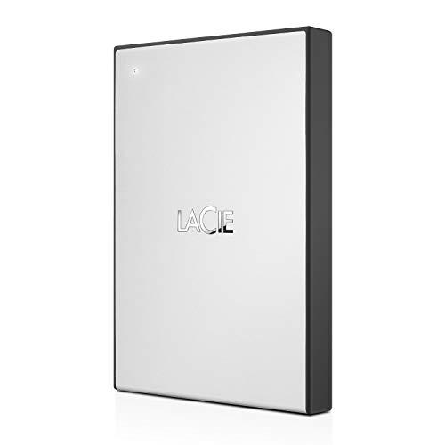 LaCie Hard Disk Esterno Portatile da 2 TB, USB 3.0, per Mac, PC, Xbox One e PlayStation 4