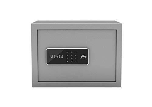 Godrej Forte Pro 15 Litres Digital Electronic Safe Locker for Home & Office with Motorized Locking...