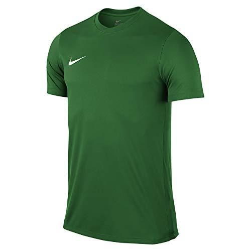 Nike Park VI, T-shirt, Uomo, Verde (Pale Green / White), L