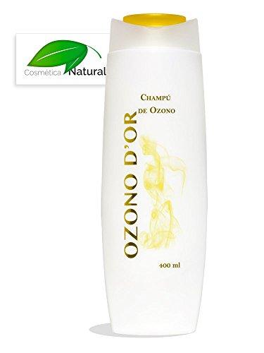 Ozono Dor. Shampoo naturale di ozono 400 ml. Grazie al ozono, Este Shampoo ES Antiforfora E Previene la Alopecia, confiere più lucido e ES speciale per capelli cuoio