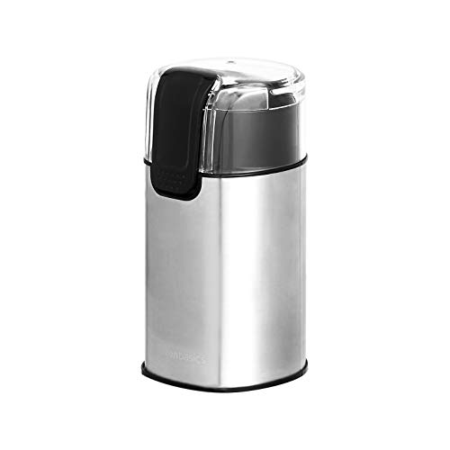 AmazonBasics Stainless Steel Electric Coffee Bean Grinder