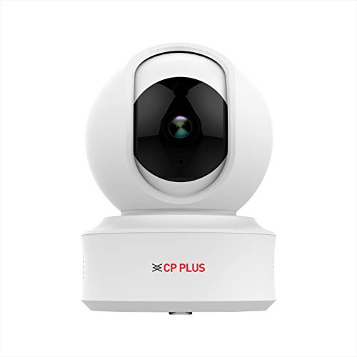 CP PLUS Intelligent Home PT Camera with Cloud Remote Viewing – 1080 Full HD , Wireless / WiFi, 360...