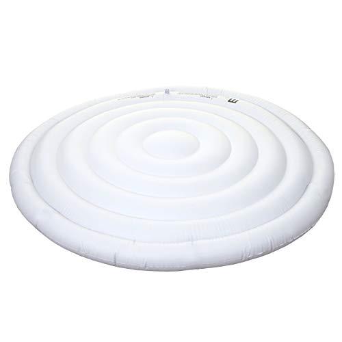 Mendler Thermoabdeckung für Whirlpool MSpa HWC-A62, Schutzabdeckung Abdeckung, aufblasbar isolierend rund Ø 160cm