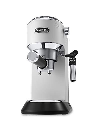 De'Longhi Dedica EC685.W Macchina da Caffè Espresso Manuale e Cappuccino, Caffè in Polvere o in...