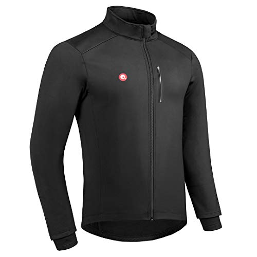 8. Przewalski Men's Winter Thermal Cycling Bike Jacket
