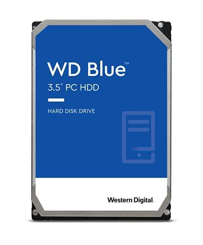 WD Blue - Disco duro para ordenadores de sobremesa de 1 TB (7200 rpm, SATA a 6 Gb/s, 64 MB de caché, 3,5') azul