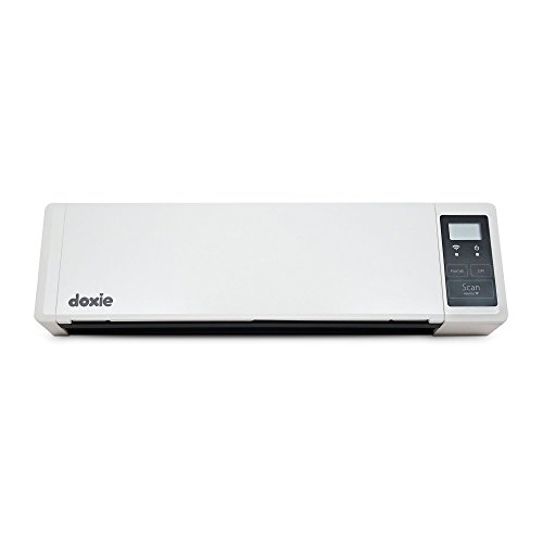 Doxie Q - Wireless Rechargeable Document Scanner with Automatic Document Feeder (ADF) (Renewed)
