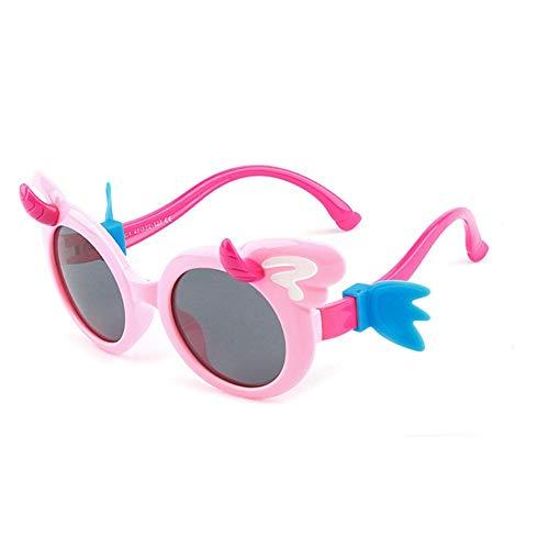 ZHAOSHUNAN occhiali da sole Occhiali da Sole per Bambini Occhiali Polarizzati Occhiali Colorati per...