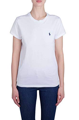 Polo Ralph Lauren Maglietta a Girocollo in Cotone Donna MOD. 211734144 M