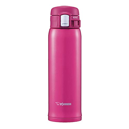 Elephant Seal (ZOJIRUSHI) Water Bottle Straight drink [one-touch open] sutenresumagu 480ml SMSD48