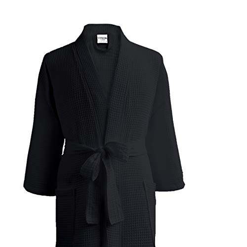 Luxor Linens Waffle Robes - Giovanni...