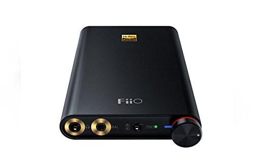 FiiO Q1 Mark II Hi-Res MFi Certified Portable Amplifier with DAC (Black)