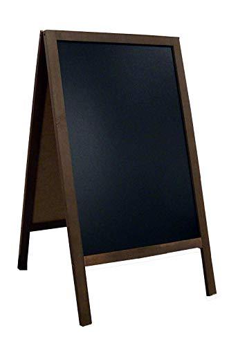 DWA Kundenstopper Kreidetafel Gehwegaufsteller Werbetafel Holz 118x60 cm FL3