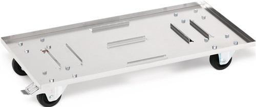 NORDWEST Handel AG - Carrello per il trasporto STA, verde. f. scatole di alluminio 29 L 91 L totale...