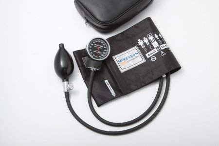 McKesson Blood Pressure Unit Professional Adult Cuff Black - Model 01-700gm