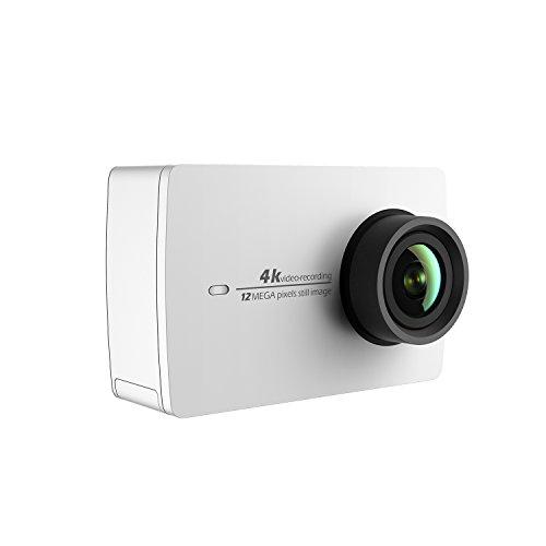 YI 4k Action Cam 4K/30fps Videocamera WiFi (Bianca)