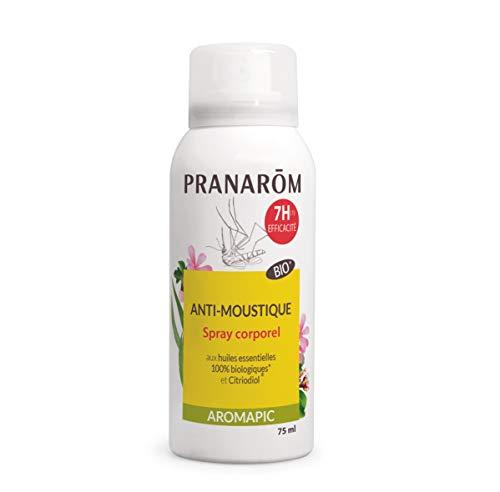 Pranarôm - Aromapic - Spray Corps Anti-Moustique Bio Eco - Efficacité 7...
