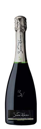 Confezione da 3 Bottiglie Prosecco Conegliano Valdobbiadene Docg Brut Bio BiancaVigna -cz