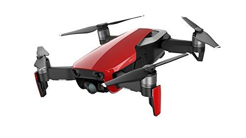 DJI Mavic Air Fly More Combo - Drone con Video 4K Full-HD I Immagini panoramiche sferiche da 32 Megapixel e raggio di trasmissione fino a 4 km - Rosso