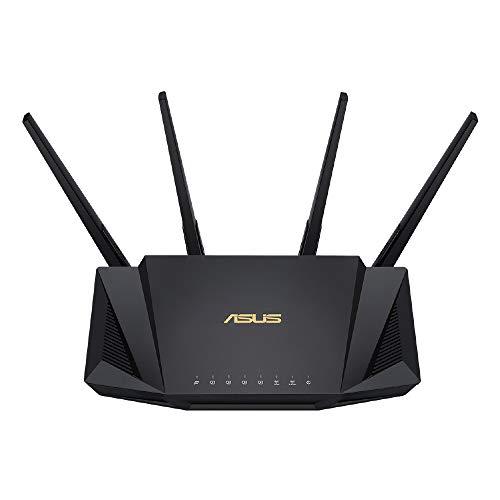ASUS Wi-Fi 無線ルーター RT-AX3000 WiFi6(11ax)対応 デュアルバンド 高速メッシュ WiFi 【 戸建 3階建 / ...