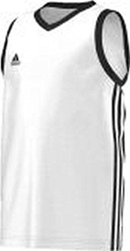 adidas Basketball Teamsport Kinder commander Kinder Wht/black , Größe adidas:140