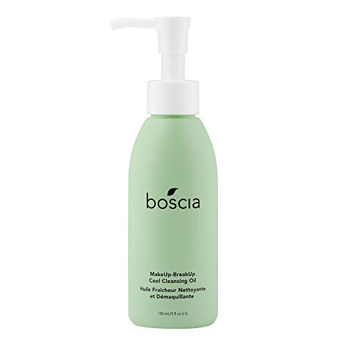 boscia MakeUp-BreakUp Cool Cleansing Oil - Vegan, Cruelty-Free, Natural and Clean Skincare | Natural Oil-Based MakeUp Remover, 150ml